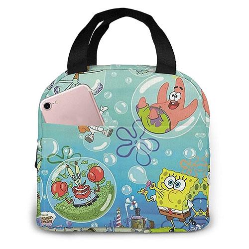 spongebob lunch bag