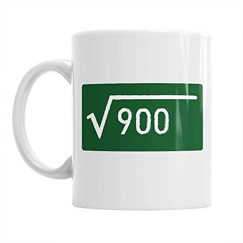 square root mug