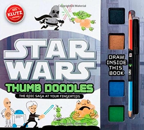 star wars thumb doodle