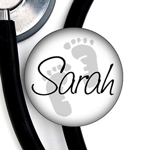stethoscope tag-grey