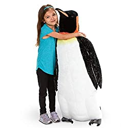 stuffed emperor penguin