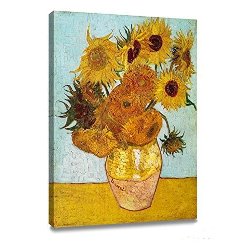 sunflowers art poster print