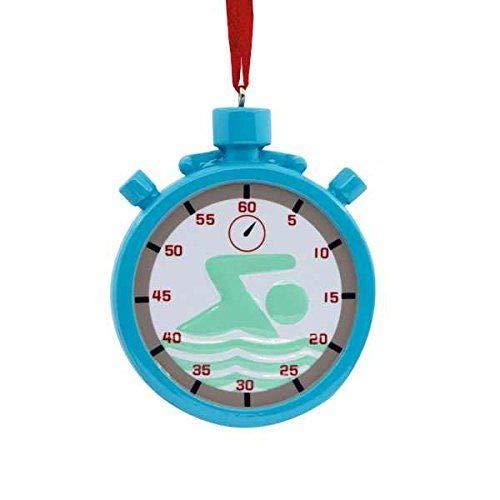 swimming hallmark ornament