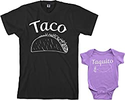 taco and taquito Shirt and bodysuit