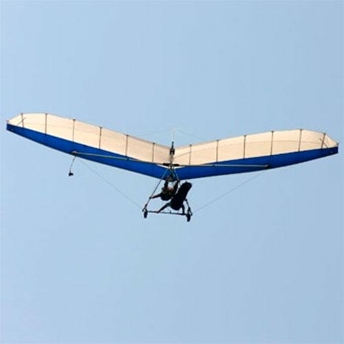 tandem hang gliding flight