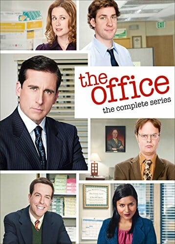 The office bluray dvd cover
