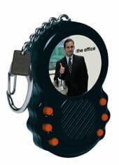 the office talking keychain