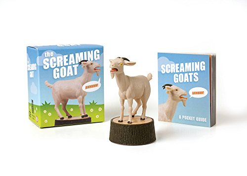 the screaming goat book and figure