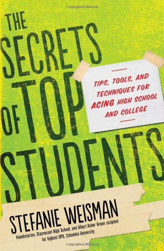 The secrets of top students book