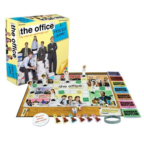 the trivia office game board