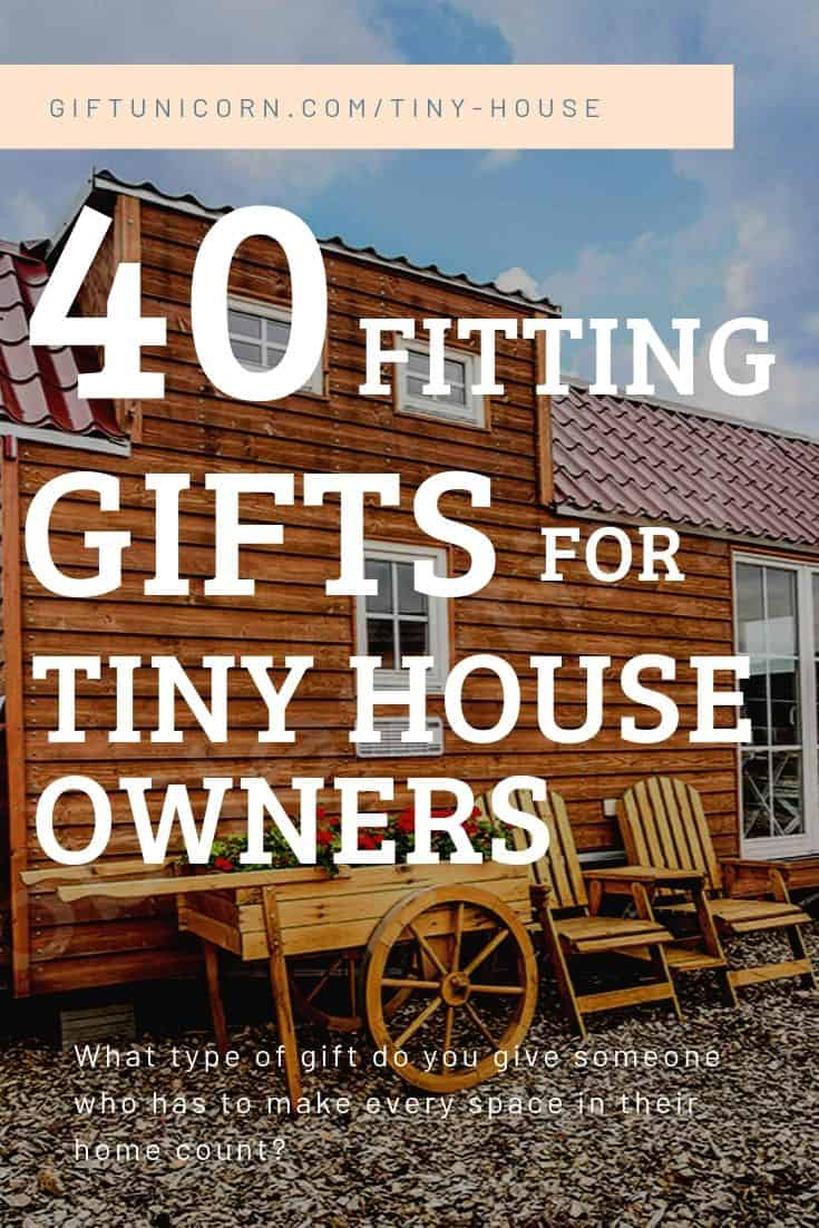 tiny house gifts pin image