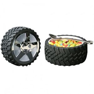 tire snack bowl