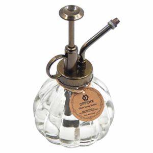 glass watering spray bottle