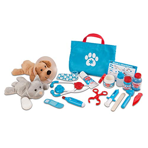 treat pet vet play set