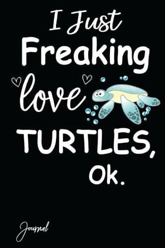i love turtles poster