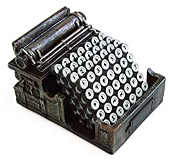 typewriter coaster set