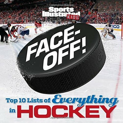 ultimate hockey faceoff book cover