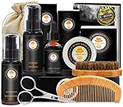upgraded beard grooming kit