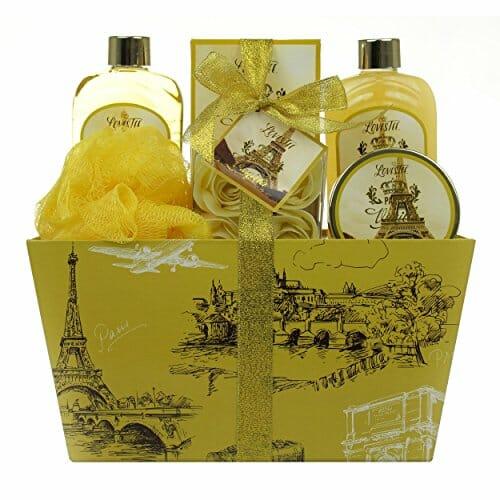 vanilla aromatherapy basket