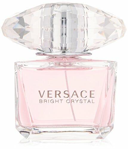 bottle of versace perfume