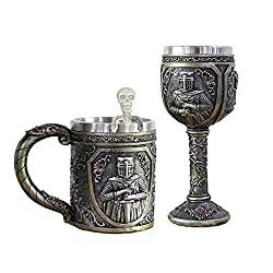 viking mug goblet spoon set