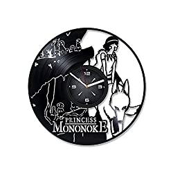 vinyll record clock