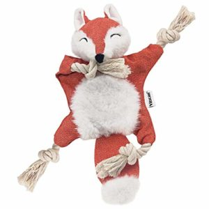 vitscan fox dog toy