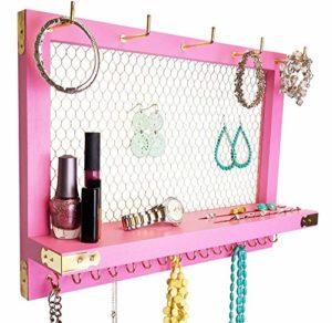 wall mounted jewelry organizer