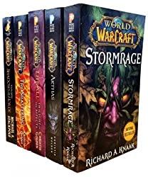 warcraft 5 book collection set