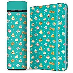 water botle and cover journal set