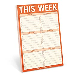 week pad