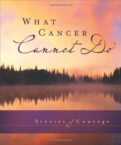 what cancer cannot do book