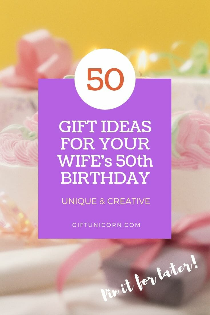 40 Unique Gift Ideas For Your Wife's