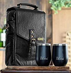 wine bag and tumbler set