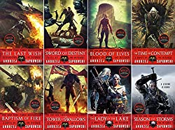 witcher series 8 book collection