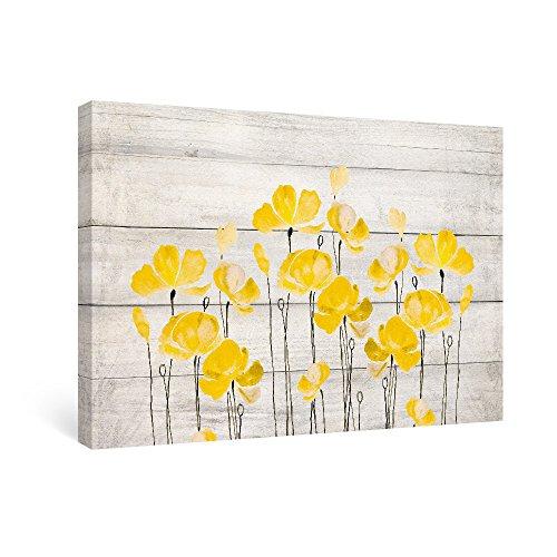 wood canvas wall art