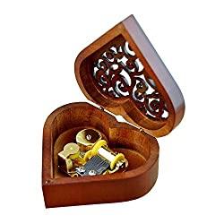 wood musical box