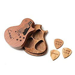 wooden pick box