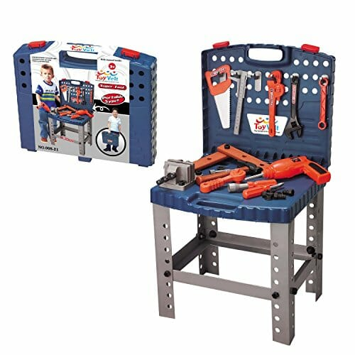 WORKBENCH toy with little tools